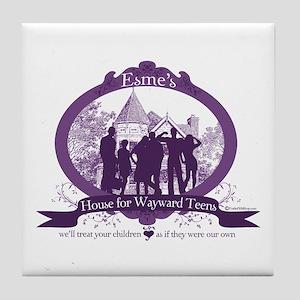 Esme's House for Wayward Teens Tile Coaster