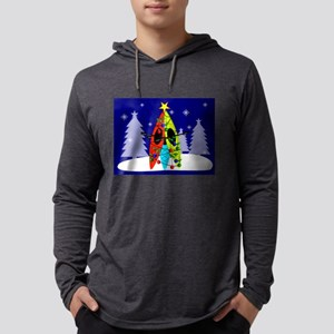 Kayaking Christmas Card Gails Long Sleeve T-Shirt