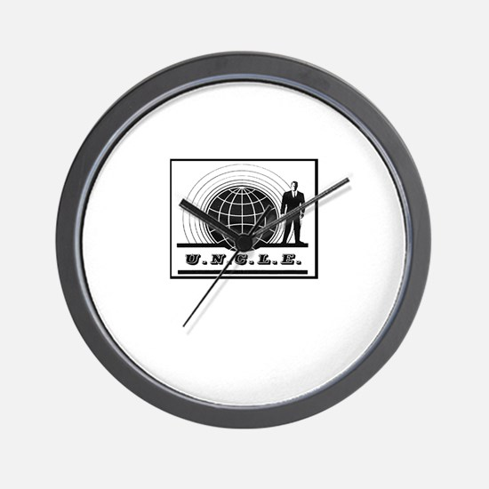 Man from UNCLE Wall Clock