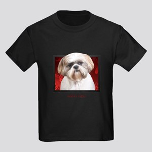 Shih Tzu Kids Dark T-Shirt