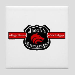 Jacob's Security Tile Coaster