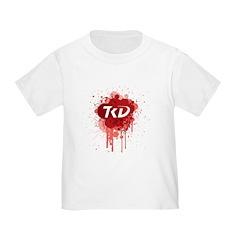 TKD Splatter Red T