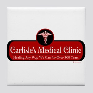 Carlisle's Medical Clinic Tile Coaster