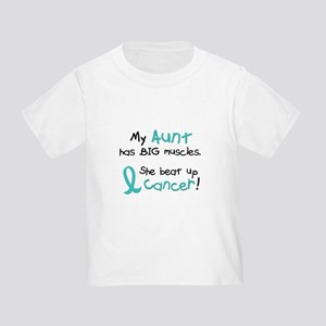 Big Muscles 1.1 TEAL (Aunt) Toddler T-Shirt