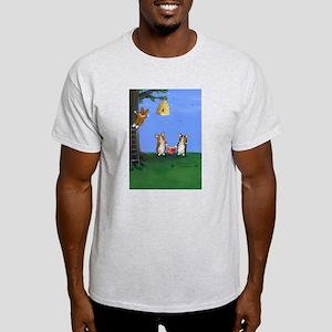 Honey, Honey Ash Grey T-Shirt
