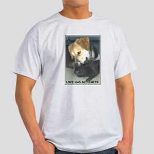 Teddy Love Ash Grey T-Shirt