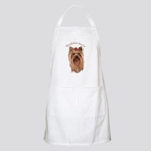 Yorkshire Terrier, breed name. BBQ Apron