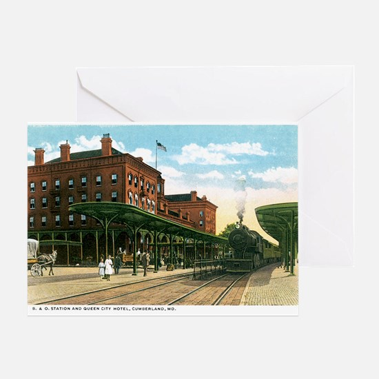 Cumberland Maryland MD Greeting Card