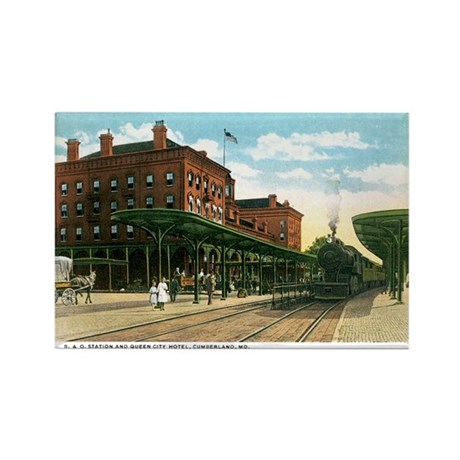 Cumberland Maryland MD Rectangle Magnet (100 pack)