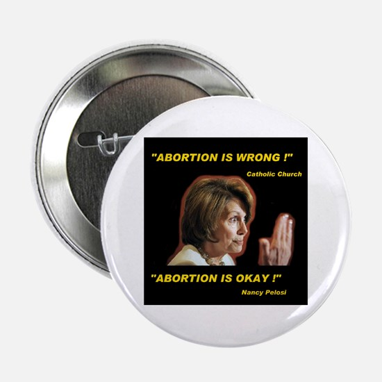 "POPE PELOSI SPEAKS 2.25"" Button"