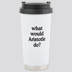 Aristotle Stainless Steel Travel Mug