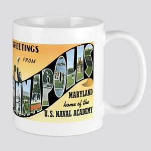 Annapolis Maryland MD Mug