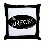 The WRECKS Throw Pillow