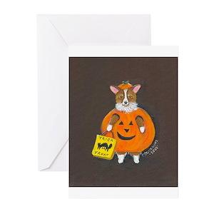 Dog halloween greeting cards cafepress m4hsunfo