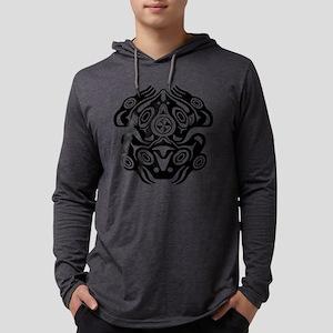 Frog Native American Design Long Sleeve T-Shirt