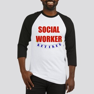 Retired Social Worker Baseball Jersey