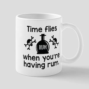 Time Flies When You're Having Rum Mug