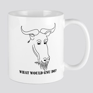 What would Gnu do? Mug