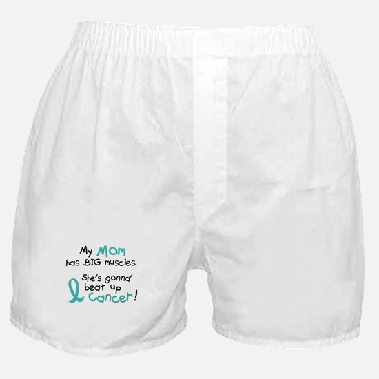 Big Muscles 1.2 TEAL (Mom) Boxer Shorts