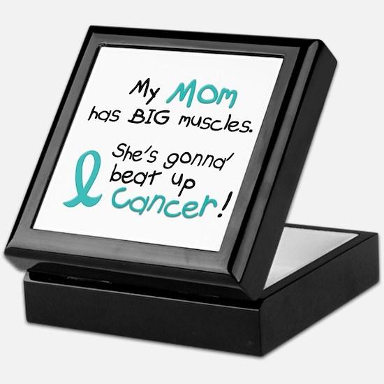 Big Muscles 1.2 TEAL (Mom) Keepsake Box