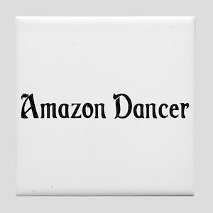 Amazon Dancer Tile Coaster