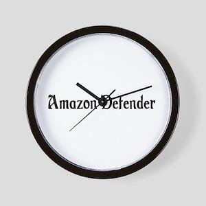 Amazon Defender Wall Clock