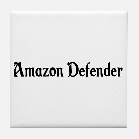 Amazon Defender Tile Coaster