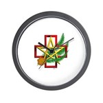 Sime~gen Christmas Wall Clock