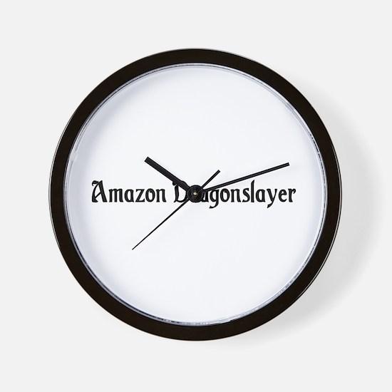 Amazon Dragonslayer Wall Clock