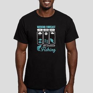 Weekend Forecast Fishing T Shirt T-Shirt