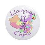 Liaoyuan China Ornament (Round)