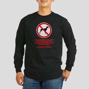 German Pinscher Long Sleeve Dark T-Shirt