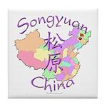 Songyuan China Tile Coaster
