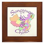 Songyuan China Framed Tile