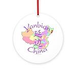 Yanbian China Ornament (Round)