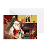 Santa's Boxer Greeting Cards (Pk of 10)