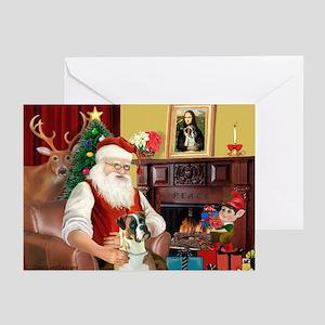 Santa's Boxer Greeting Cards (Pk of 20)