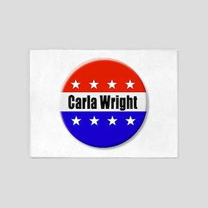 Carla Wright 5'x7'Area Rug