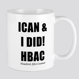 HBAC Homebirth After Cesarean VBAC Mug