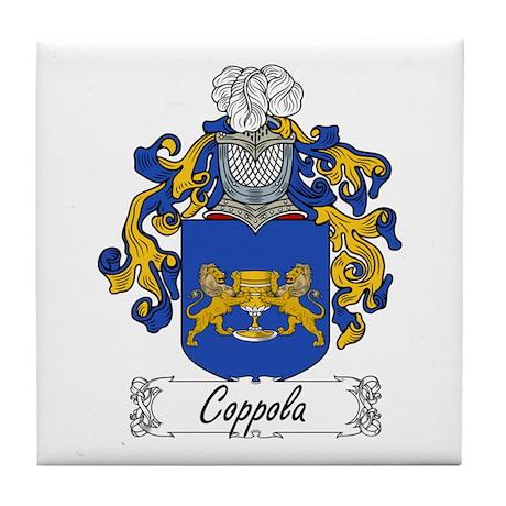 Coppola Family Crest Tile Coaster