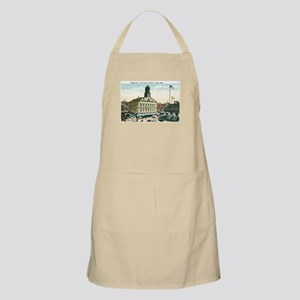 Boston Massachusetts MA BBQ Apron