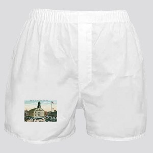Boston Massachusetts MA Boxer Shorts