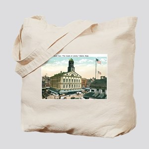 Boston Massachusetts MA Tote Bag