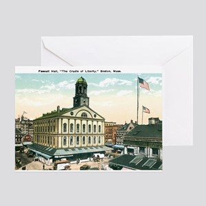 Boston Massachusetts MA Greeting Card