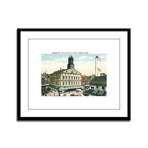 Boston Massachusetts MA Framed Panel Print