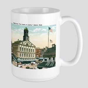 Boston Massachusetts MA Large Mug