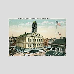 Boston Massachusetts MA Rectangle Magnet