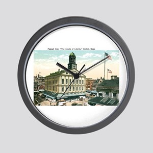 Boston Massachusetts MA Wall Clock