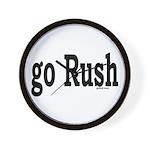 go Rush Wall Clock