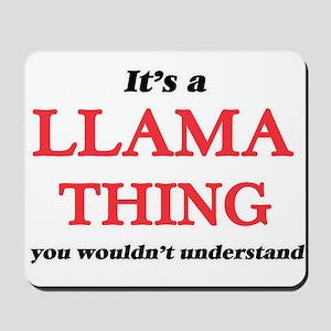 It's a Llama thing, you wouldn't Mousepad